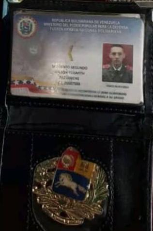 A Wilson Yeismith Paz Useche le encontraron el carné de la Guardia Nacional