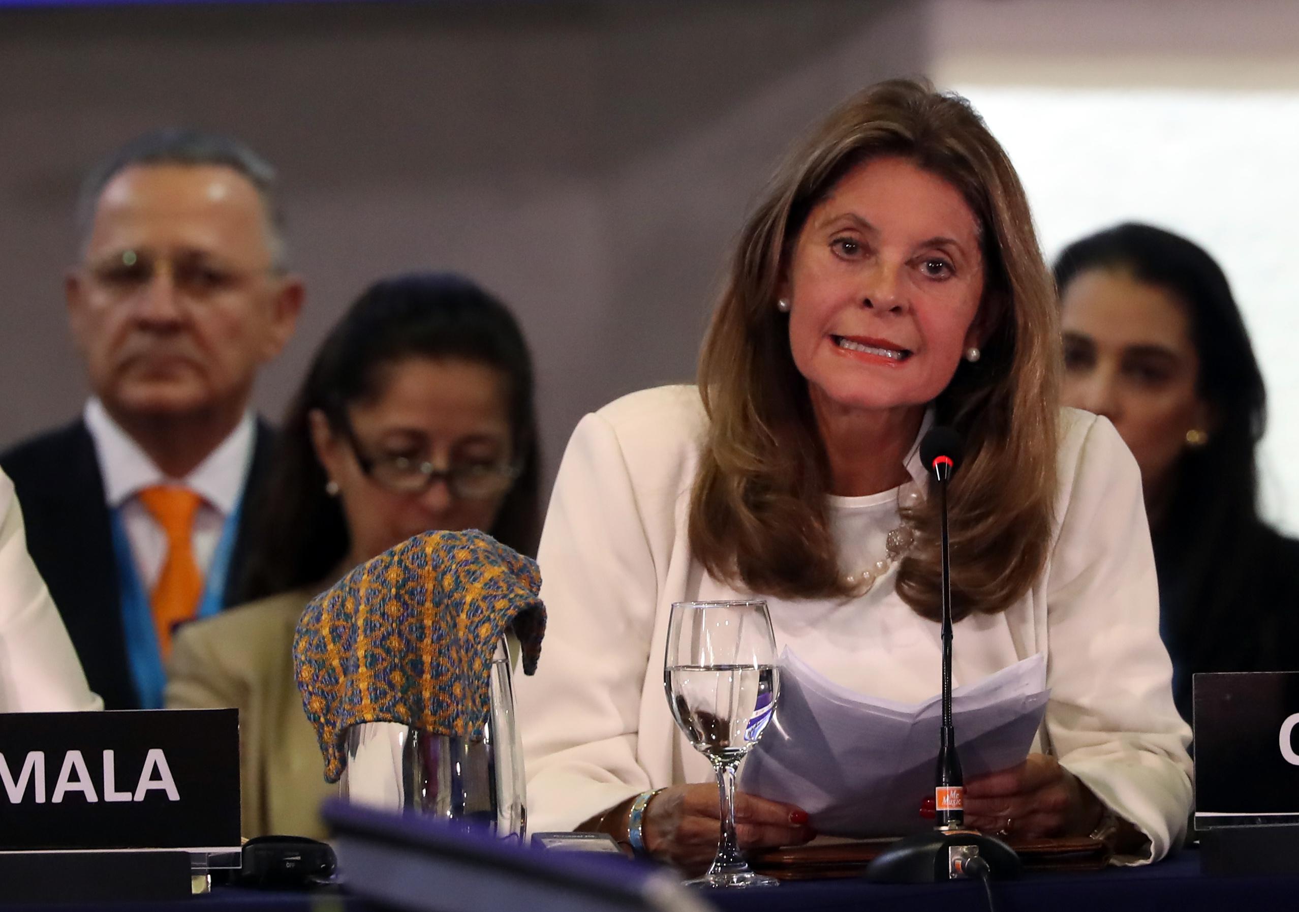 Marta Lucía Ramírez: ¿Donde está la comunidad internacional que insistió en el diálogo?