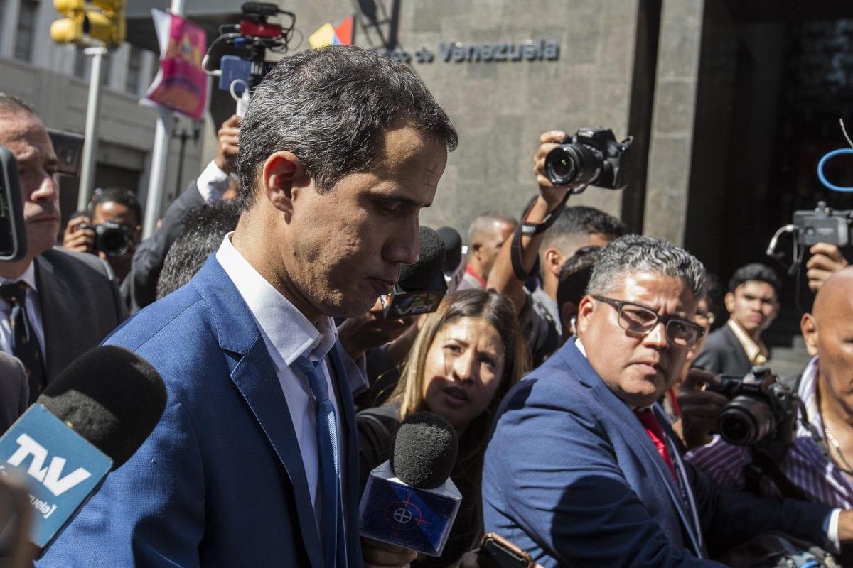 Comunidad internacional rechaza Junta Directiva encabezada por Luis Parra y apoya a Guaidó