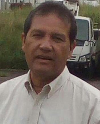 Luis Alberto Cacique Paz, la víctima. Tenía más de treinta años de servicio para la empresa estadal Corpoelec