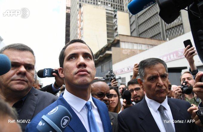 Guaidó anuncia que sesionarán en sede de El Nacional y convocará nuevas acciones ante golpe a la AN