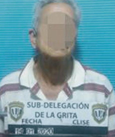 Pernía Vivas fue apresado en su casa por detectives del Cicpc.