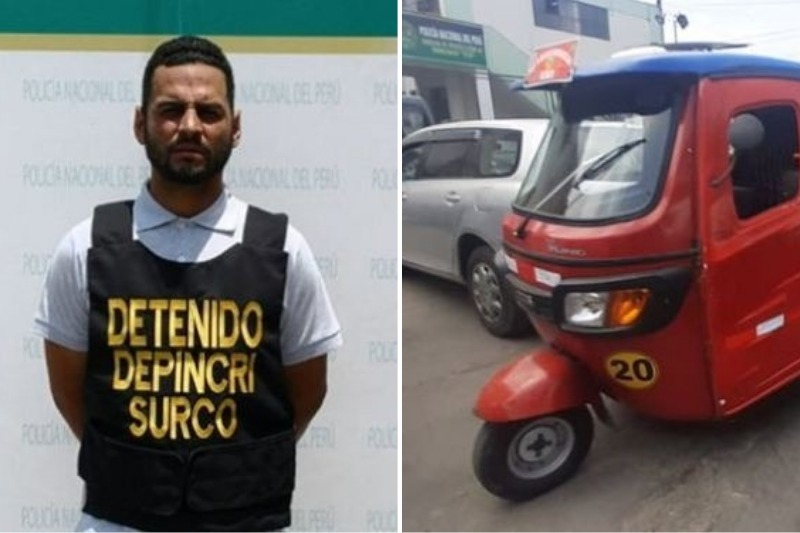 Detienen a mototaxista venezolano por arrojar bombas contra fiscalizadores en Perú