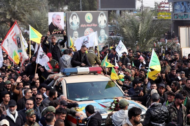 Funeral de Qasem Soleimani durará tres días y se realizará en dos países