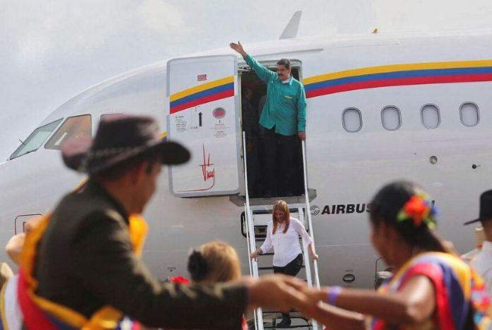 Airbus 319, el avión que usa Maduro para sus viajes, entró en la lista de sancionados