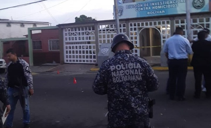 Con fusiles y granadas fue atacado sede del Eje de Homicidios del Cicpc en San Félix