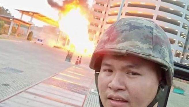 Un soldado provoca una matanza en un centro comercial de Tailandia y lo divulga por Facebook