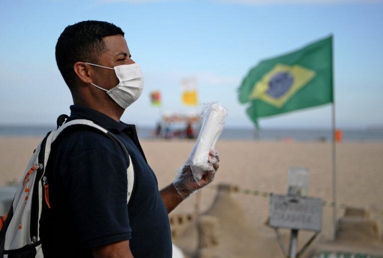 Brasil confirmó hasta el momento 234 casos del nuevo coronavirus, sin ningún caso letal, pero empezó a adoptar medidas de prevención (suspensión de clases, cierre de salas de espectáculos y de competiciones deportivas).Foto:AFP