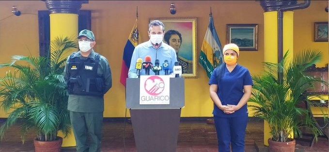 Bebé de 10 meses es el primer caso de COVID-19 en Guárico, dice el gobernador