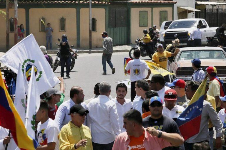 Guaidó dice que intentaron asesinarlo en Barquisimeto