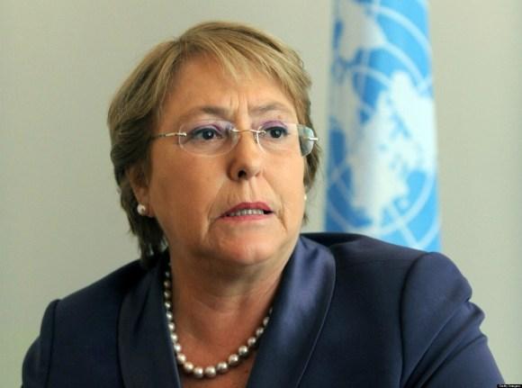 Michelle Bachelet pide suspender las sanciones a Venezuela