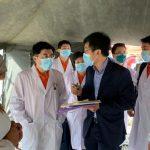 Expertos chinos visitaron hospitales centinelas que no tienen agua ni insumos