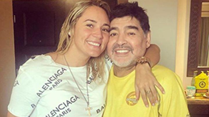 Rocío Oliva acusó a hijas de Maradona de no dejarla despedirse de Diego